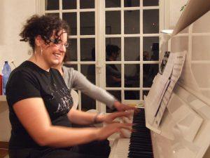 Cours de piano avec Ludivine