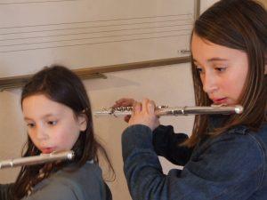 Cours de flûte traversière avec Ludivine